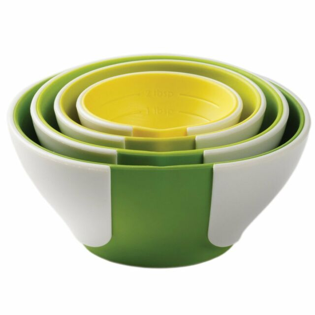 Silicone Chef/'n SleekStor Pinch Pour Collapsible Measuring Cups 102-250-095