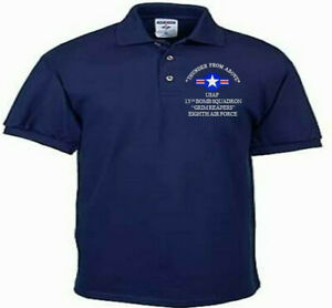 13TH-BOMB-SQUADRON-EIGHTH-AIR-FORCE-USAF-EMBROIDERED-LIGHTWEIGHT-POLO-SHIRT