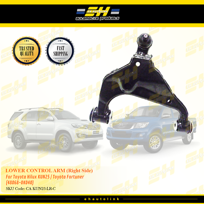Lower Control Arm For Toyota Hilux Fortuner 4WD 48068-0K040 Right Side