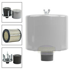 15 Inch Air Compressor Intake Filter Silencer Metal Housing Canister Usa