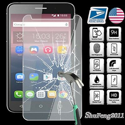 """Clear Tablet Glass Screen protector Guard For Alcatel Onetouch Pixi 4 7/"""""""
