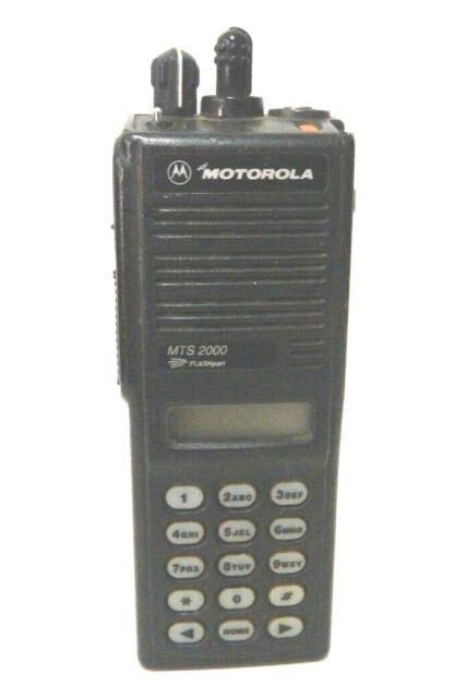 Motorola MTS2000 3-Watt 800MHz Smartzone Radio with Programming Security  Police Fire