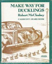 Make Way for Ducklings by Robert McCloskey (rebound)  Caldecott Winner!