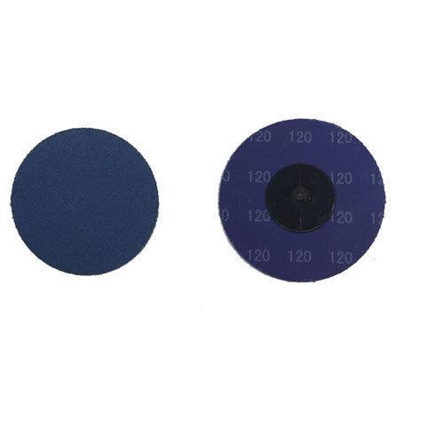 """25 3/"""" Roloc Zirconia Quick Change Sanding Disc 120 Grit"""