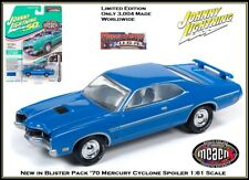 1970 Mercury Cyclone alerón Blue ** RR ** Johnny Lightning muscle 1:64 OVP