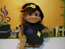 """HALLOWEEN WITCH - 5"""" Russ Troll Doll - NEW IN ORIGINAL WRAPPER"""