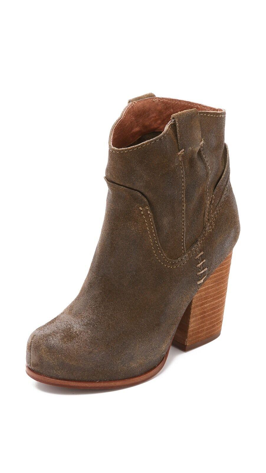 Jeffrey Campbell Showdown Suede Booties Size 7.5 MSRP   165 New Women