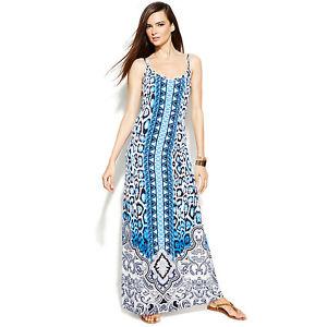 Image is loading INC-International-Concepts-Dress-Maxi-sz-PM ef4ed91f6