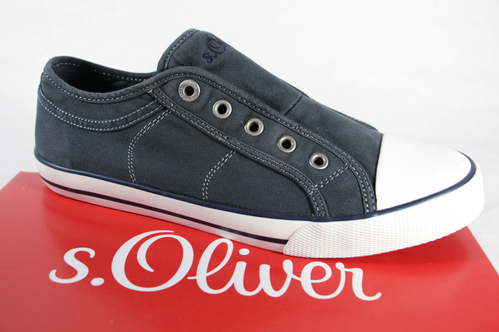 S.Oliver PANTOFOLA SNEAKERS BALLERINA 24635 blu jeans tessuto NUOVO NUOVO NUOVO 61a50a
