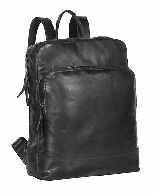 Sinnvoll The Chesterfield Brand Mack Backpack Rucksack Tasche Black Schwarz Neu Hochwertige Materialien