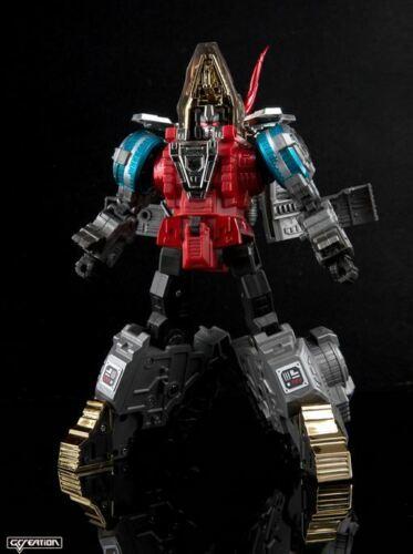 New Transformers G-Creation Shuraking SRK 05 HAMMER Red Slag Figure In Stock