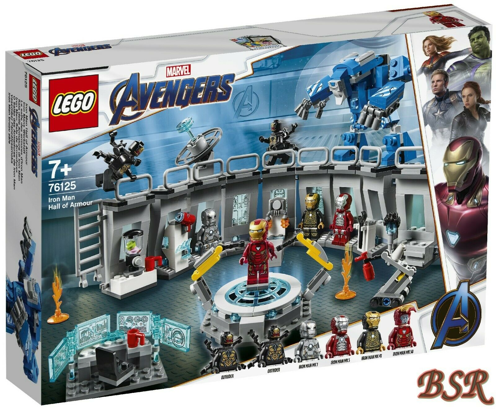 Lego ® Marvel Avengers   76125 IRON hommeS Workshop &  shipping & nouveau & OVP  promotions passionnantes