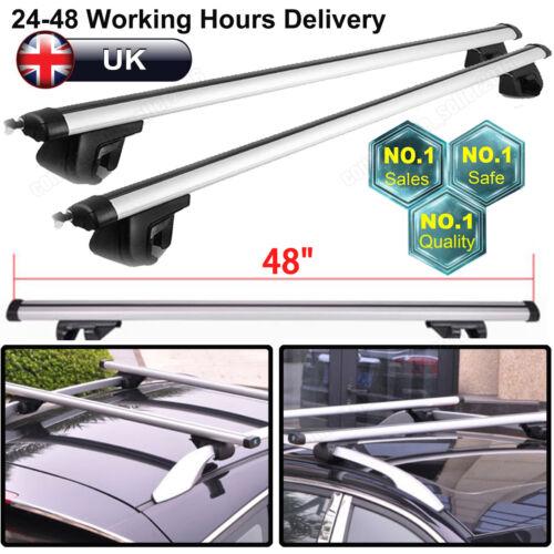 For VW Sharan Seat Alhambra Roof Rails Car Top Roof Rack Bar Rail Set Univeral