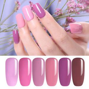 7-5ml-UR-SUGAR-Pure-Farbe-Soak-Off-UV-Gellack-Rosa-Nackt-Nail-Art-Gel-Nagellack
