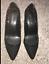 Catherines-Shoes-Black-Circle-Stud-Heel-Pumps-Womens-Plus-8-9-10-11-Wide-NIB thumbnail 2