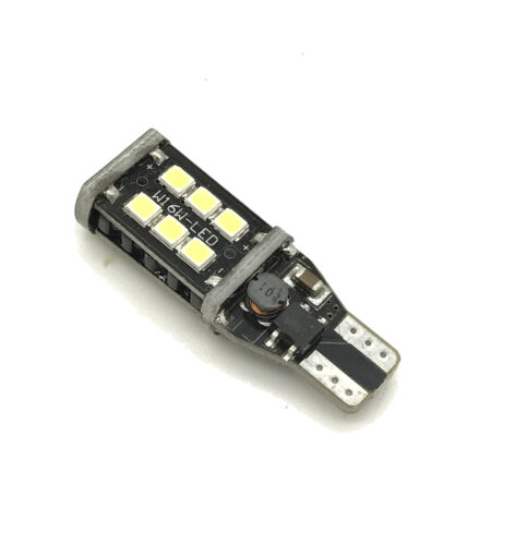 Reverse Light Bulb 15 SMD LED W16W T15 955 921 For Nissan Navara 92-97