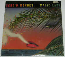 US Pressing SERGIO MENDES Brasil '88 MAGIC LADY LP Record