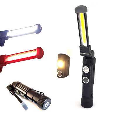 Hete-supply Mini Torcia a LED Ricaricabile Mini Torcia Portatile a LED con Micro USB Ricaricabile luminosit/à in Grado di Raggiungere Fino a 150 Lumen Inclusa Batteria Ricaricabile Cavo USB
