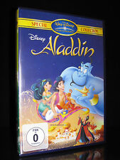 DVD WALT DISNEY - ALADDIN - SPECIAL COLLECTION - TRICKFILM KINDER *** NEU ***