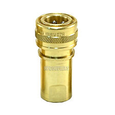 Carpet Cleaning 14 Brass Quick Disconnect Qd Hose Wand Truckmount Extractor
