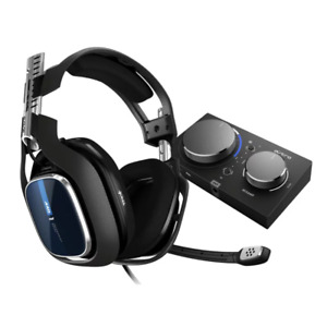 ASTRO A40 TR Gen 4 Wired Headset Black/Blue for PS4 PC & Mac NEW