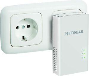 Difetto! 1x Powerlan Netgear PL1200-100PES Powerlan-Adapter (1-Port, 1200Mbps)