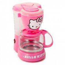 HELLO KITTY APP-36209 KITCHEN APPLIANCE ELECTRIC COFFEE MAKER MACHINE PINK NEW