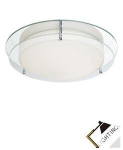 ... Lumiere De Salle Bain Verre Lampe Plafonnier Suspendue