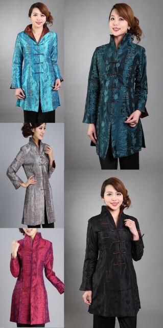 New Style Embroider Women's Jacket Coat Outdoor Evening Dress S-M-L-XL-XXL-XXXL