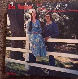 AUTOGRAPHED-Eric-Vaughan-with-Judy-amp-the-Kosmic-Kowboys-LP-Piranha-Records