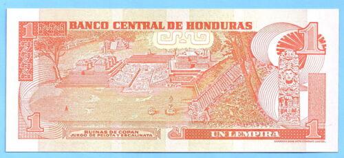 Honduras 1 Lempira 2004 UNC Lempiras Free Shipping Worldwide Paypal OK