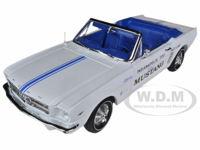 FORD MUSTANG 1964 1 2 289 V8 Indy 500 Pace Voiture 1 18 Limited 1500PC autoworld AW209