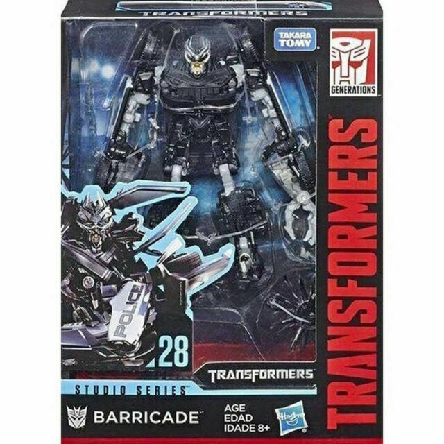 New Transformers Hasbro Studio Series SS-28 Deluxe Barricade MISB