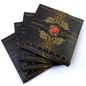 Acoustic-Guitar-Strings-Full-Set-Pack-of-80-20-Phosphor-Bronze-10s-11s-12s-13s