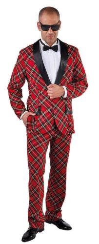 Discoteca vestito costume Uomo 50er 60er anni Hippie SMOKING Rock N Roll costume discoteca