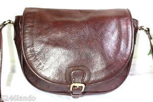 d447507474 Image is loading Vintage-Massimo-Dutti-Brown-Leather-Shoulder-Saddle-Sling-