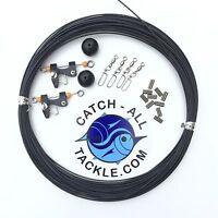 Black Line Outrigger Rigging Kit - Lineballsclipssnaps & Crimps on Sale