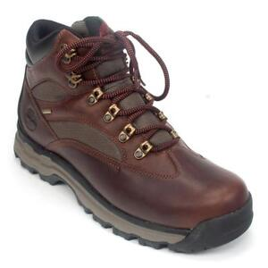 c3c2157ebcc Timberland Chocorua Trail Gore-tex Mid Hiking BOOTS Brown Full Grain  Leather 8
