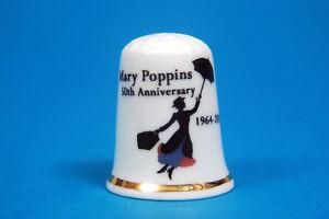 Mary-Poppins-50th-Anniversary-1964-2014-China-Thimble-B-179