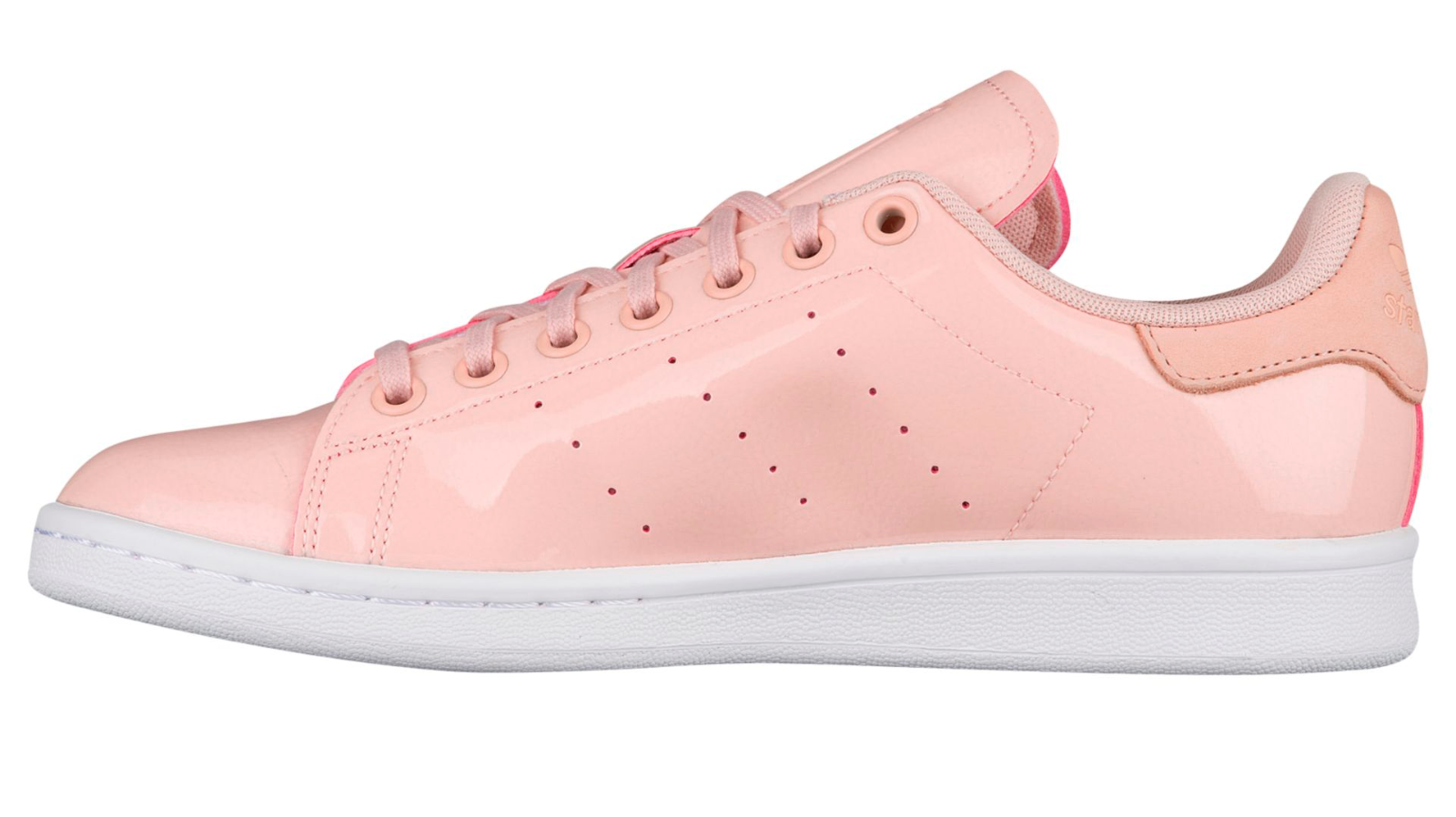 Womens ADIDAS STAN SMITH W Pink Synthetic Synthetic Synthetic Casual Trainers BA7498 66eb2c