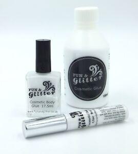 Glitter Tattoo Glue Cosmetic Body Art Adhesive Long Lasting Skin Safe Ebay