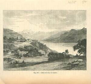 Glion à Montreux canton de Vaud et lac de Genève ou Léman Suisse GRAVURE 1884 - France - EBay Glion nel cantone di Montreux di Vaud e del Lago di Ginevra in Svizzera /Glion in Montreux canton of Vaud and Lake Geneva Switzerland Schweiz ANTIQUE PRINTGRAVURE 100 % DÉPOQUE 1884 PORT GRATUIT EUROPE A PARTIR DE 4 OBJETS BUY 4 ITEMS AND E - France