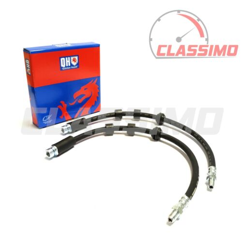Front Brake Flexi Hose Pair for FORD MONDEO MK 3-2000 to 2007 Quinton Hazell