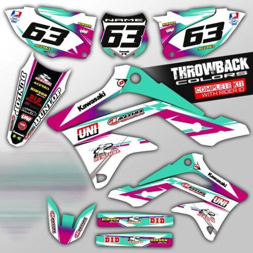2000-2018 KX 65 GRAPHICS KIT KAWASAKI KX65 MOTOCROSS DIRT BIKE THICK DECALS