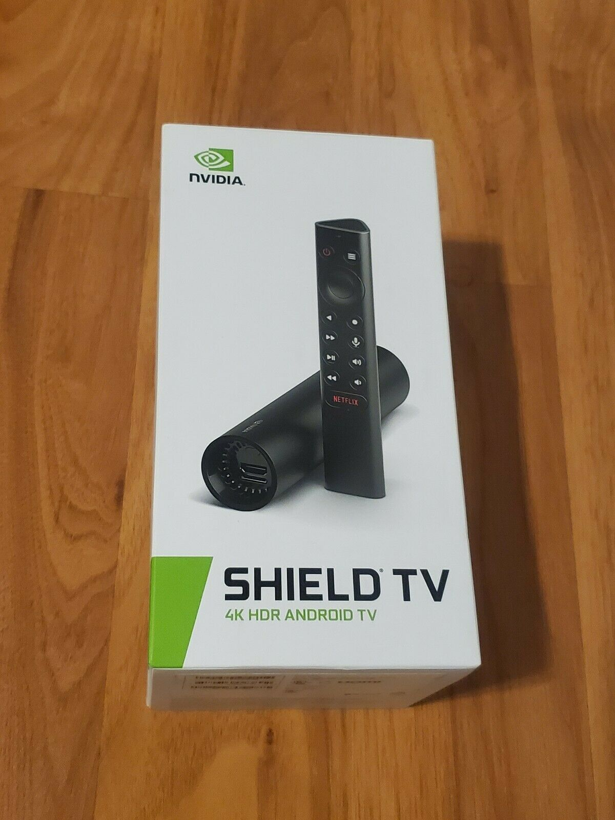 NVIDIA - SHIELD Android TV -8GB - 4K HDR Streaming Media Player with Google android google hdr media nvidia player shield streaming with