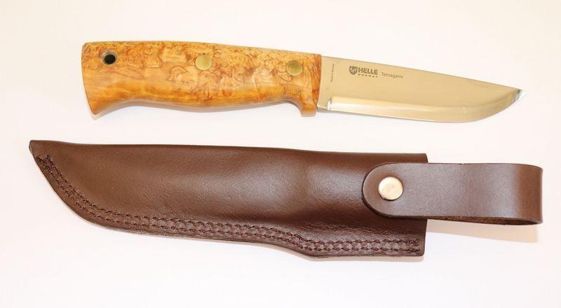 Helle Helle Helle Outdoormesser Temagami ST Klinge 11 cm - rostfreier Dreilagenstahl  | Angenehmes Aussehen  43bfef