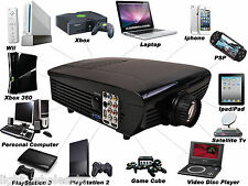 WVGA Powerful Business Home Theater Projector 1080p HD -HDMI TV DVD Playstation