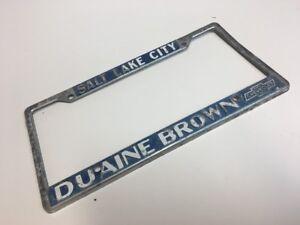 Gus Paulos Chevrolet >> Salt Lake City Duaine Brown Chevrolet Dealership License ...
