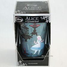 ALICE IN WONDERLAND FALLING GLASS 16 OUNCE Pint Glass LICENSED DISNEY FREE SHIP