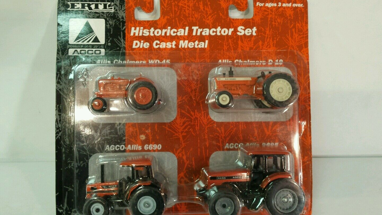 ERTL ALLIS CHALMERS historique tracteur Set1 64 diecast farm tractor replicas